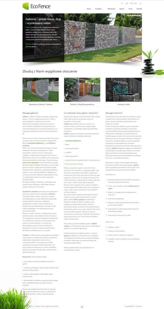 Strona Eco Fence