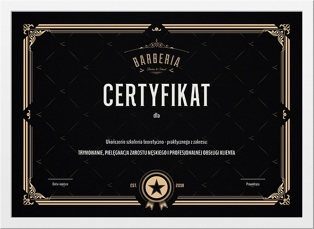 Logo i projekt dyplomu dla barbera_03