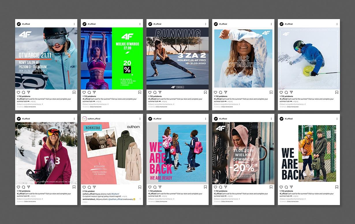 Projekty banerów reklamowych do social mediów dla 4F_02
